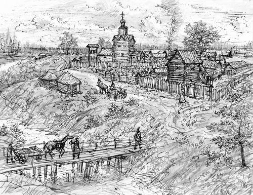 Село тропарёво - XV век