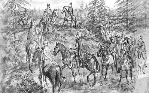 Гости сурожане шли с Дмитрием Донским на Куликово поле.