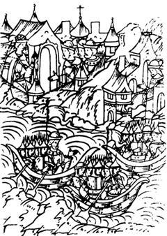 Поход русской судовой рати на Казань в 1545 году
