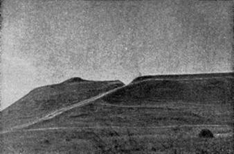 Оленья гора. Вид с поймы реки Сундовик