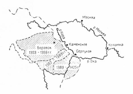 Карта автодорог Владимирской